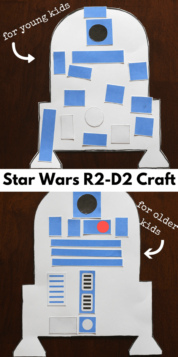 Star Wars R2 D2 Craft For Kids Bigdiyideas Com