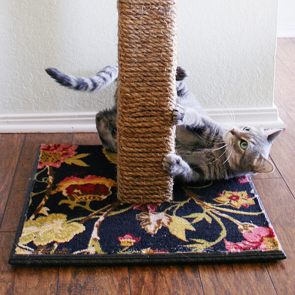 40 cool diy cat tree kitty condos or cat climbers for Diy kitty
