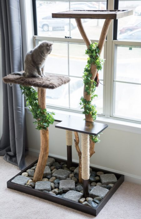 40 Cool DIY Cat Tree Kitty Condos Or Climbers