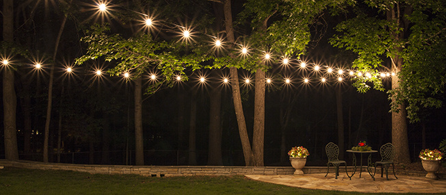 How To Plan And Hang Patio Lights Bigdiyideas Com