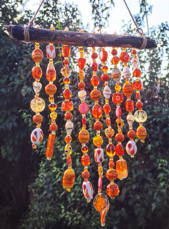 Glass Bead Wind Chime Bigdiyideas Com