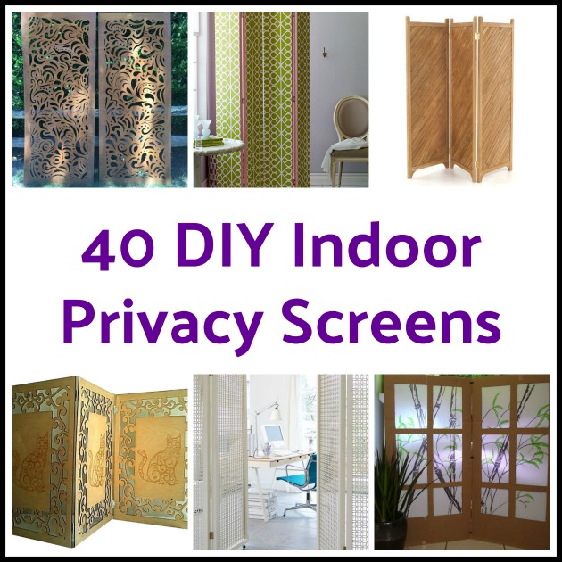 40 DIY Indoor Privacy Screens