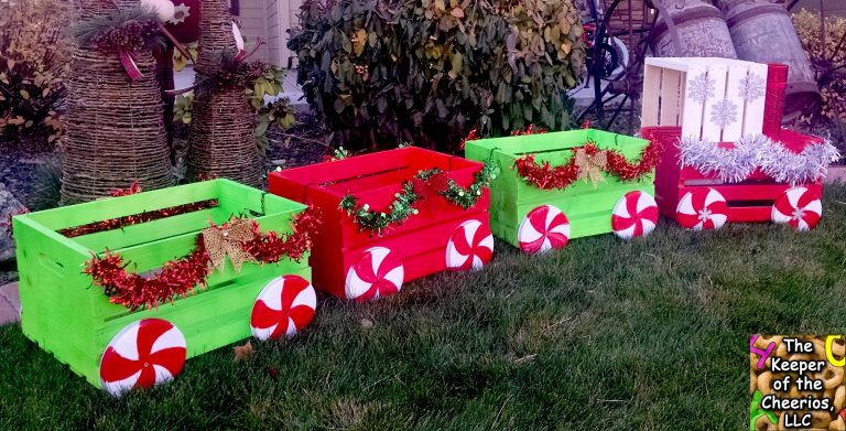 Christmas Crate Train Bigdiyideas Com