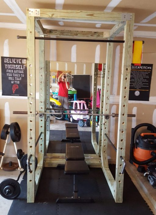 40 diy home exercise equipment projects diy squat rack guide solutioingenieria Gallery