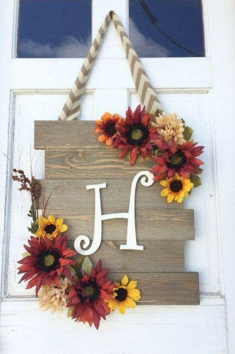 40 Front Door Initial Monogram Ideas
