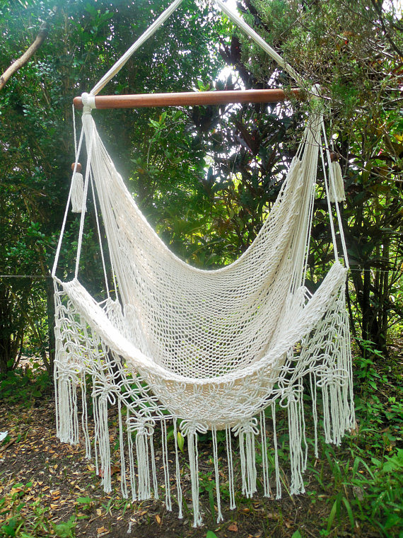 Macrame Large Hammock Chair Butterfly Party Bigdiyideas Com