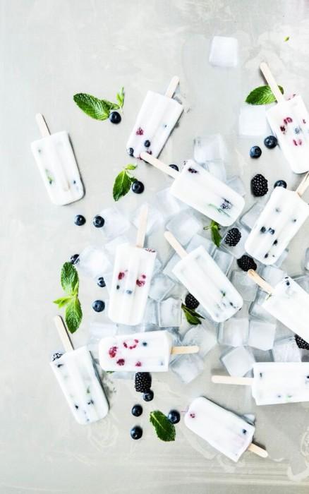 Berry Health Coconut Milk Popsicles