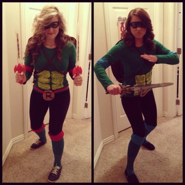 Let's be ninja turtles for Halloween