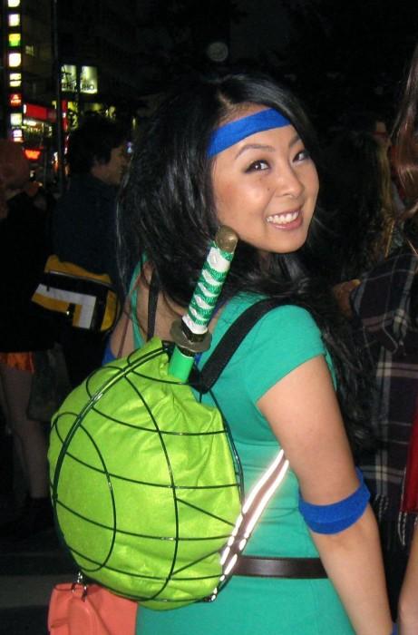 tmnt single person costume