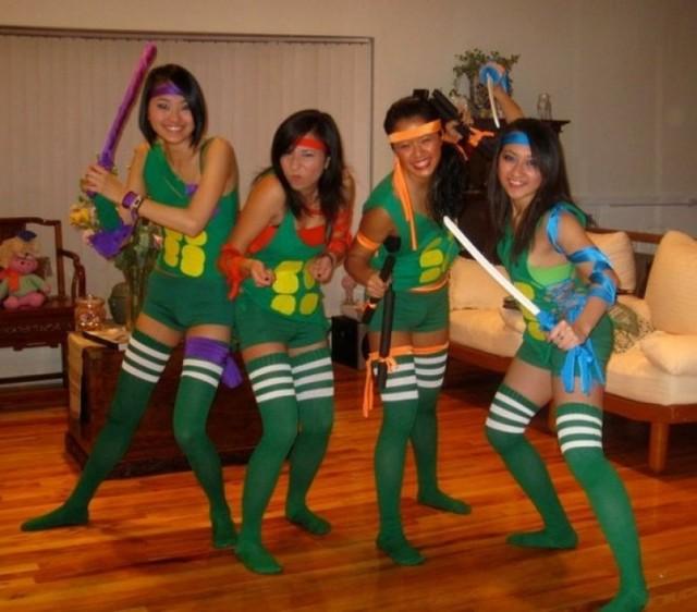 59 homemade diy teenage mutant ninja turtle costumes women tmnt halloween costumes solutioingenieria Images