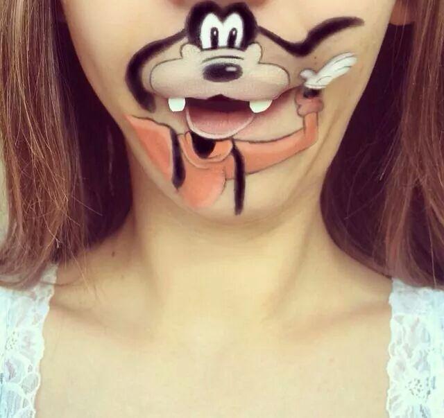 goofy makeup