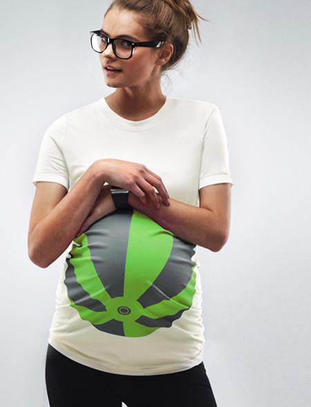 beachball maternity tshirt