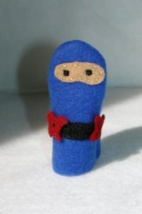 Cute little finger ninjas for Anime Club