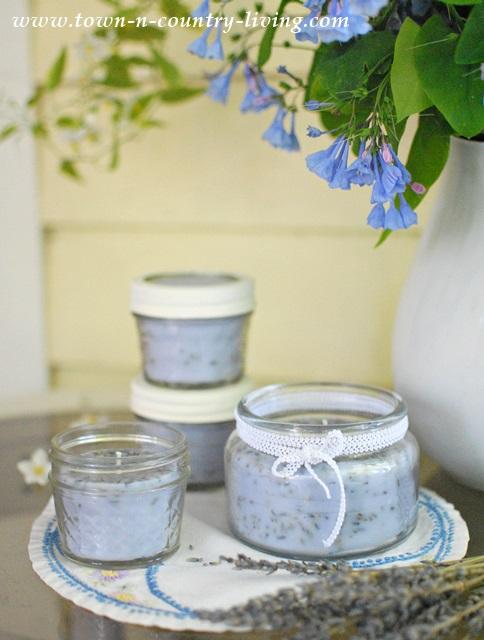 DIY-Lavender-Candles