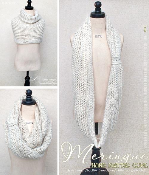 Meringue scarf MyLittleCityGirl