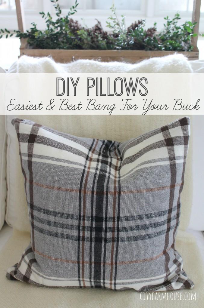40 Diy Ideas For Decorative Throw Pillows Amp Cases