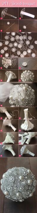 Wedding-DIY-Brooch-Bouquet