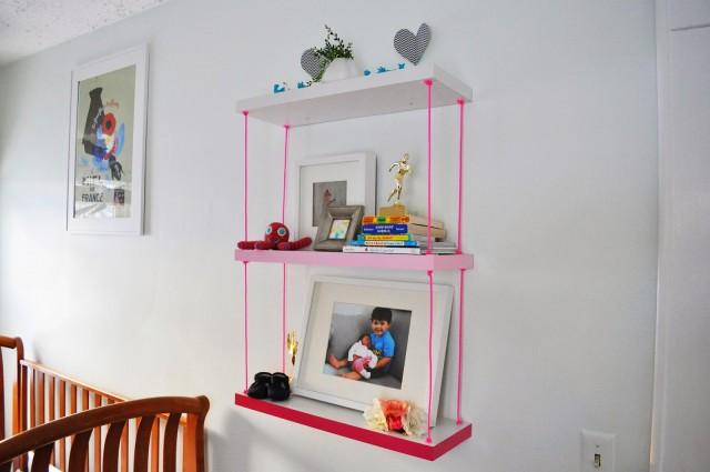 shelves from closet