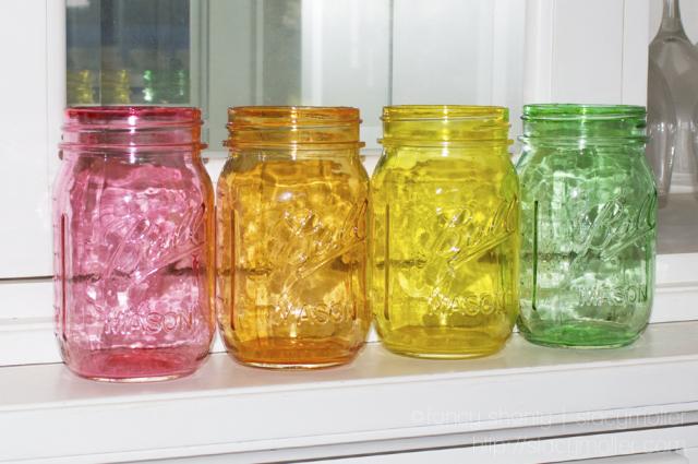 Mod Podge Crafts With Mason Jars