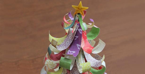 Paper Scrap Christmas Tree