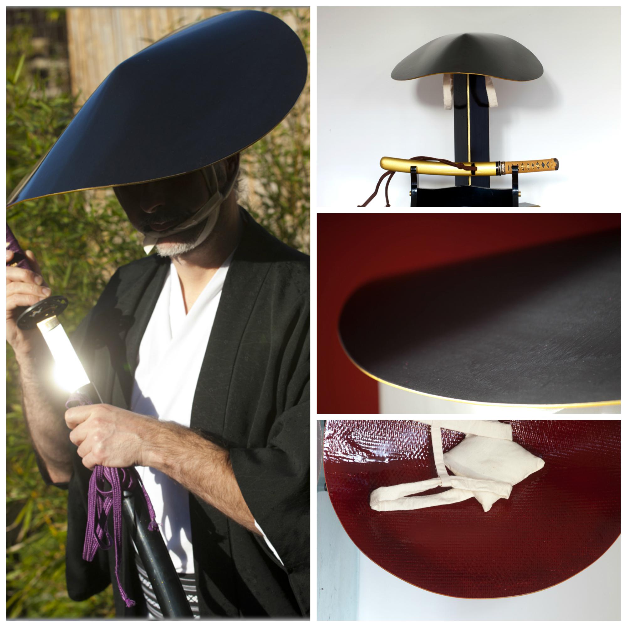 Jingasa Samurai Hat DIY