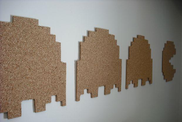 Pac Man Cork Board