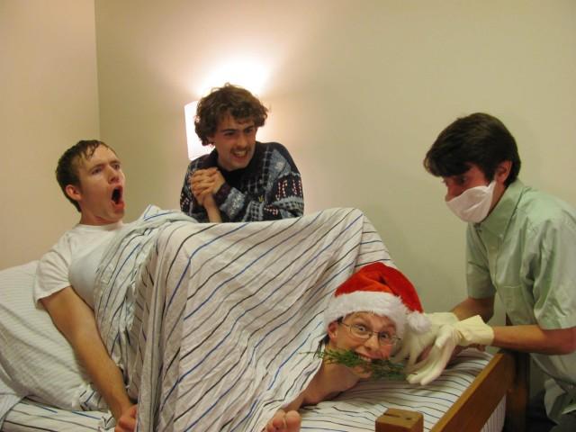 Roommates Christmas Card