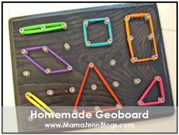 Homemade Geoboard