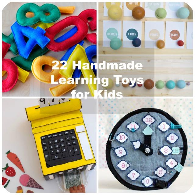 22 Handmade Learning Games & Toys for Kids