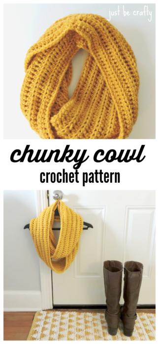 Chunky-Cowl-Crochet-Pattern
