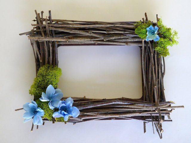 Rustic Twig Frame