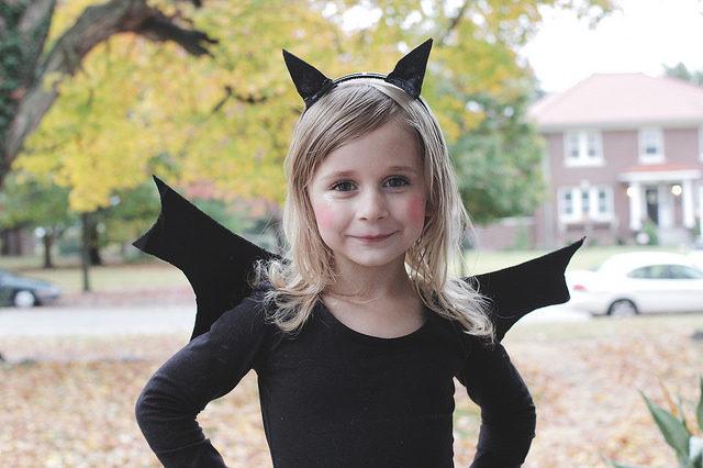 DIY Halloween Bat Costume