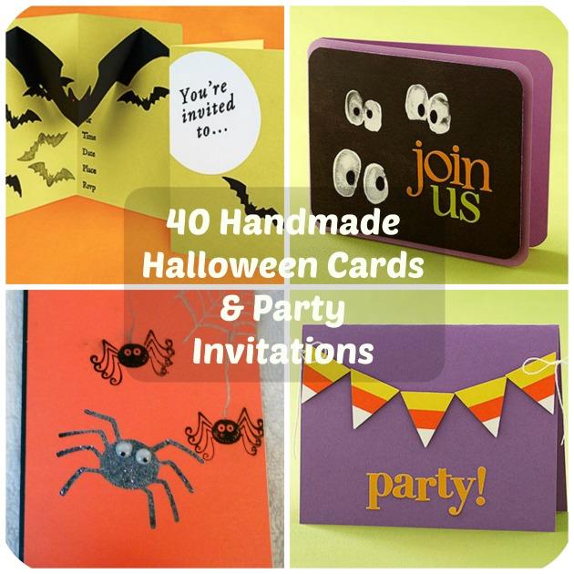 40 handmade halloween cards party invitations by diy darling on september 26 2016 halloween crafts halloweencardspartyinvitations solutioingenieria Choice Image