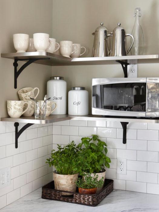 microwave-shelf