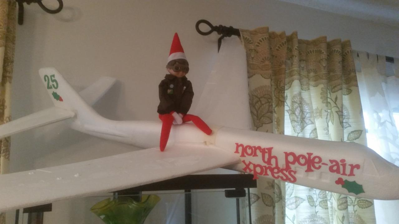 Elf On The Shelf North Pole Air Express