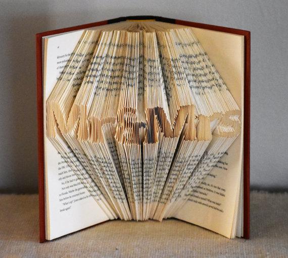 Wedding Centerpiece For Book Themed Wedding