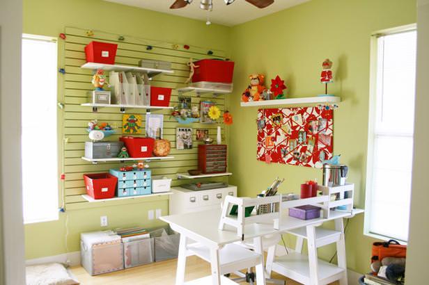 40 Craft Room Design Ideas For Better Organization Creativity