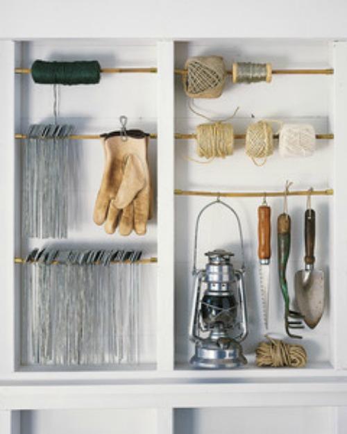 40 Diy Garden And Yard Tool Storage Ideas