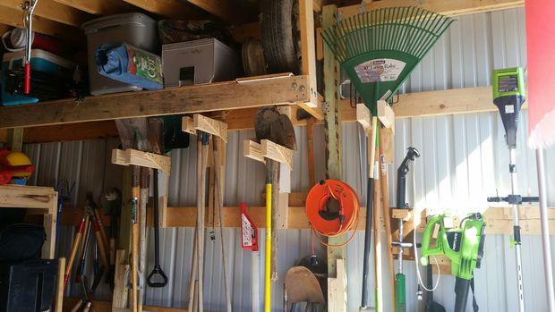 From Pallet To Garden Box >> 40 DIY Garden and Yard Tool Storage Ideas