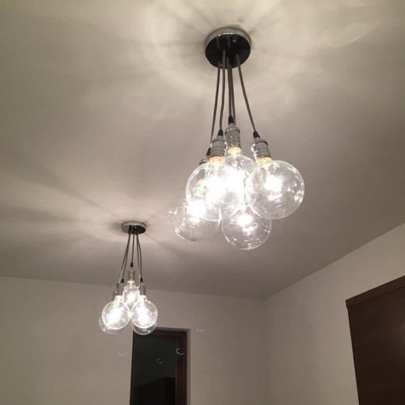 24 Handmade Pendant Light Designs Ideas: 40 DIY Chandelier And Ceiling Light Fixture Ideas