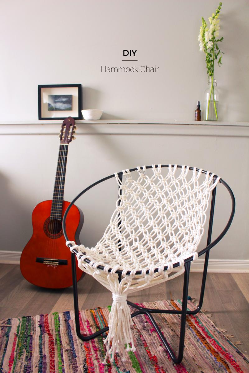 Charmant DIY Macrame Hammock Chair