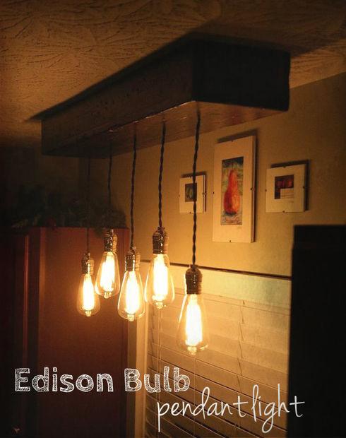 40 diy chandelier and ceiling light fixture ideas edison bulb pendant light fixture aloadofball Images