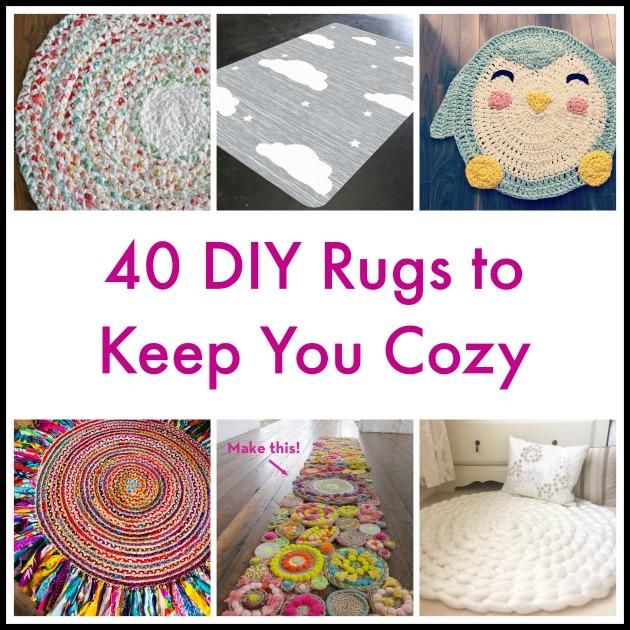 40 Diy Home Decor Ideas: 40 DIY Rugs To Keep You Cozy