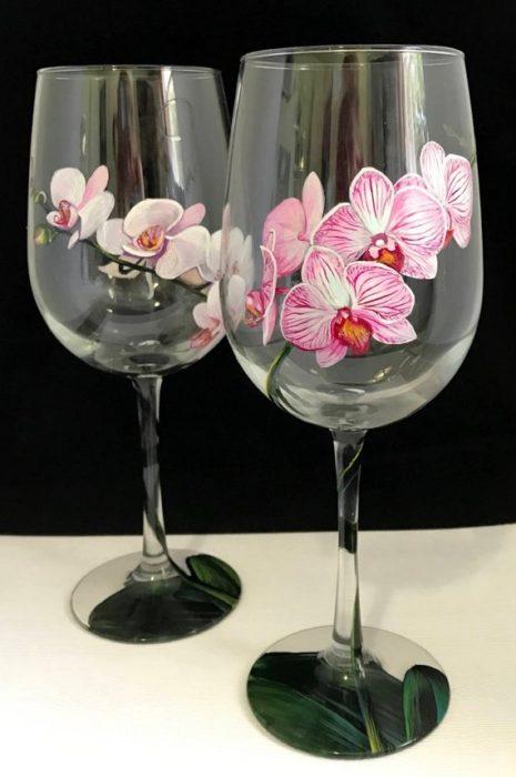 40 Diy Hand Painted Wine Glasses